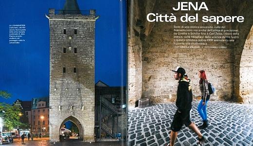 JEZT - Ausschnitt © aus dem italienischen Magazin Bell Europa