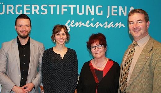 JEZT - Der direkt gewählte Bundestagsabgeordnete Albert Weiler besuchte die Bürgerstiftung Jena Saale-Holzland