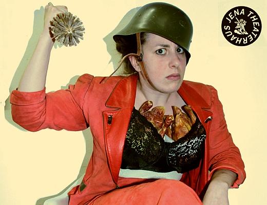 JEZT - Johanna Berger - KÖNIG UBU -  Mutter UBU - Foto © Theaterhaus Jena
