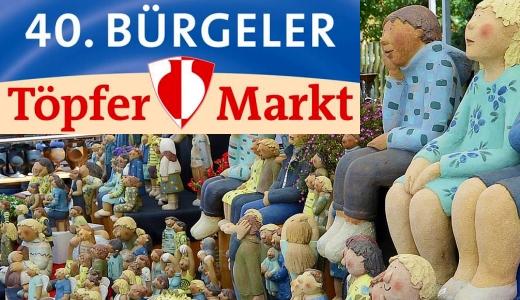JEZT - Lichtstadt.News - 40. Töpfermarkt in Bürgel - Teaser