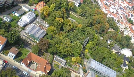 JEZT - Lichtstadt.News - Der botanische Garten in Jena - Grüne Oase im Herzen der Stadt