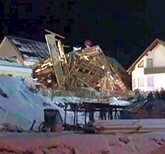 JEZT - Lichtstadt.News - Schwere Explosion eines Wohnhauses in Jena vom Dezember 2012 im Wohngebiet Himmelreich