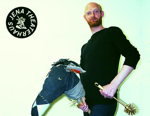 JEZT - Mathias Znidarec - KÖNIG UBU - Hauptmann Bordure - Foto © Theaterhaus Jena