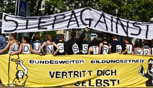 JEZT - StuRa Foto zum Thema Bildungsstreik von Robert Eckardt