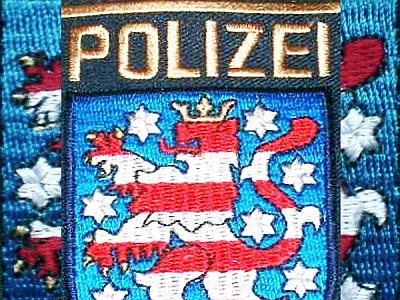 JEZT - Wappen der Thüringer Polizei - Symbolbild