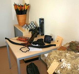 Lichtstadt.News - Funde aus der Wohnung des Armbrustschützen