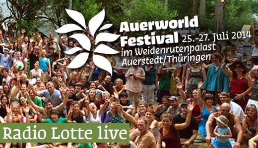 JEZT - Auerworld Festival 2014 - Radio Lotte Live - Teaser