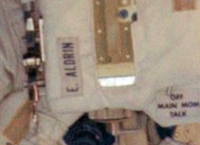 JEZT - Buzz Aldrin auf dem Mond - NASA Foto - Detail