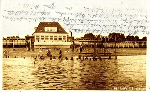 JEZT - Das Strandbad in Deutsch-Eylau in Westpreussen