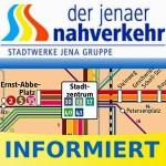 """""""Arbeitsfreier Weltkindertag"""": Straßenbahnen und Busse des Jenaer Nahverkehrs fahren heute nach dem Sonn- und Feiertagsfahrplan"""