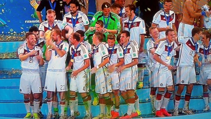 JEZT - Deutschland ist Fussball-Weltmeister 2014