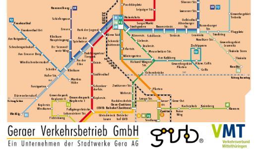 JEZT - Geraer Verkehrsbetrieb GmbH - Symbolbild