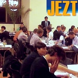 JEZT - Sitzung des Stadtrats - Symbolbild inklusive Logo