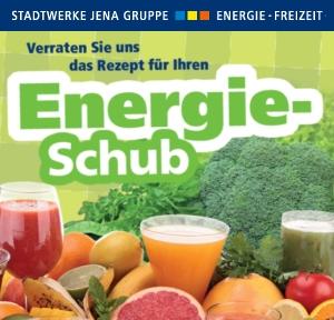 JEZT - Stadtwerke Jena Energie - Energieschub Rezepte - Teaser