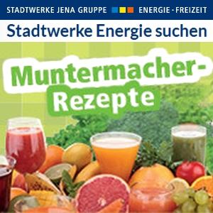 JEZT - Stadtwerke Jena Energie - Muntermacher Rezepte - Reaser