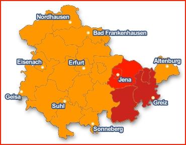 JEZT - Unwetterwarnung in Ostthüringen 2014-07-08