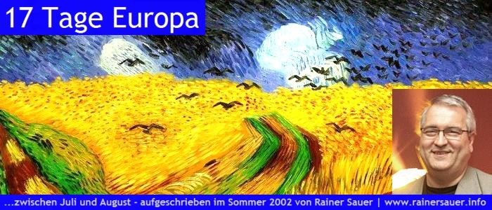 Rainer Sauer - 17 Tage Europa - Teaser
