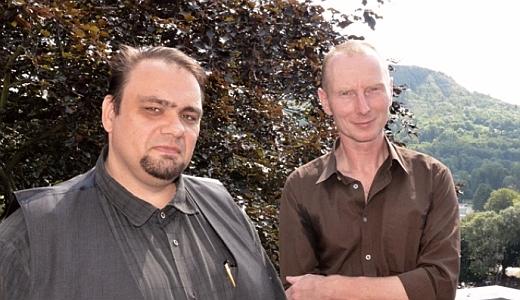 JEZT - Andre Schinkel und Ingar Krauss - Rosenthal Stipendium - Foto © Stadt Jena Barbara Glasser