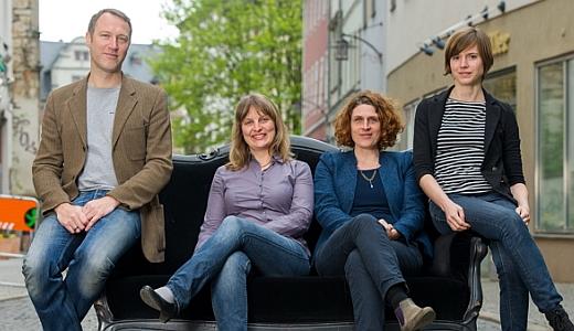 JEZT - Das team des Kunstfests Weimar 2014 - Foto © KFW Thomas Mueller