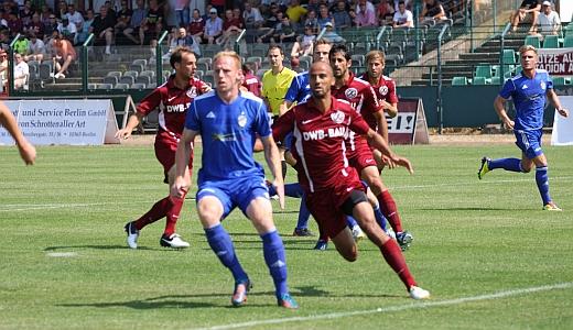 JEZT - Der FC Carl Zeiss Jena spielt gegen den BFC Berlin - Foto © FCC