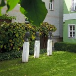Der Garten des Romantikerhauses in Jena -  Foto © Stadt Jena JenaKultur
