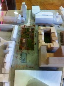 JEZT - Eichplatzmodell von Bauhaus-Studenten in derRathausdiene