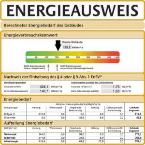JEZT - Energieausweis - Symbolbild