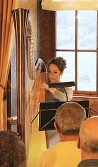 JEZT - Harfenspielerin Susanne Vetter