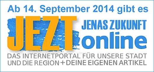 JEZT - Jenas Zukunft Online ab 14. September 2014 - Teaser