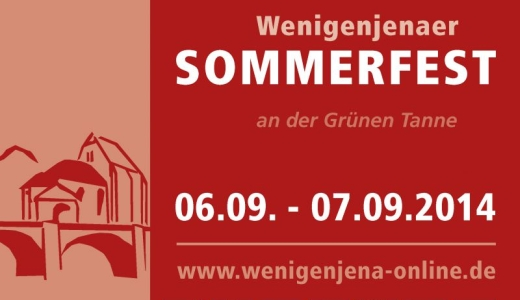 JEZT - Logo des Wenigenjenaer Sommerfestes 2014