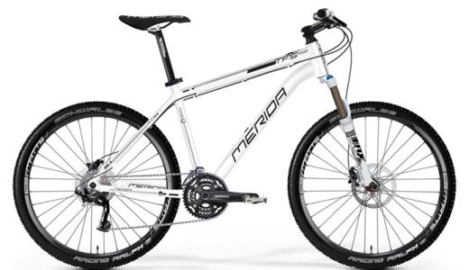 JEZT - Mountainbike Weiss der Marke Merida - Symbolbild