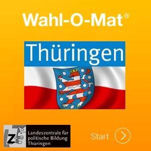 JEZT - Wahl-O-Mat Thueringen Logo