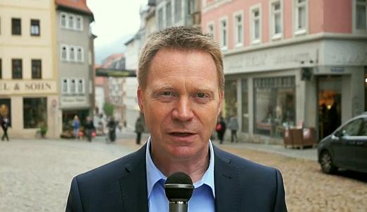 JEZT - Christoph Matschie in einer Videobotschaft aus Jena - Foto © SPD Team Matschie