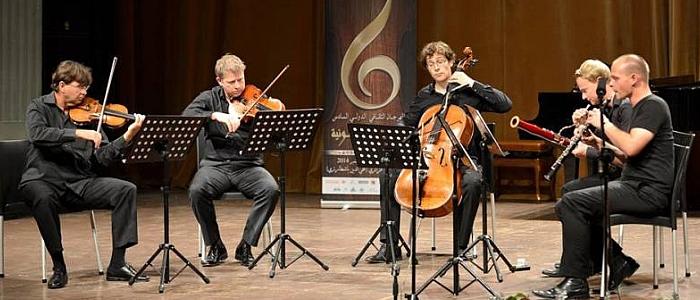 JEZT - Das Ensemble KlangEssenz aus Jena spielt beim 6 Festival Culturel International de Musique Symphonique in Algier
