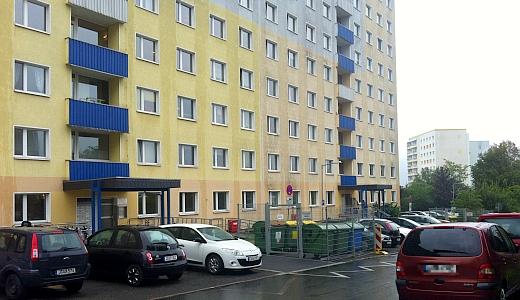 JEZT - Das Haus in der Bonhoefferstrasse in Jena in dem die neunjaehrige Leila misshandelt wurde - Foto © MediaPool Jena