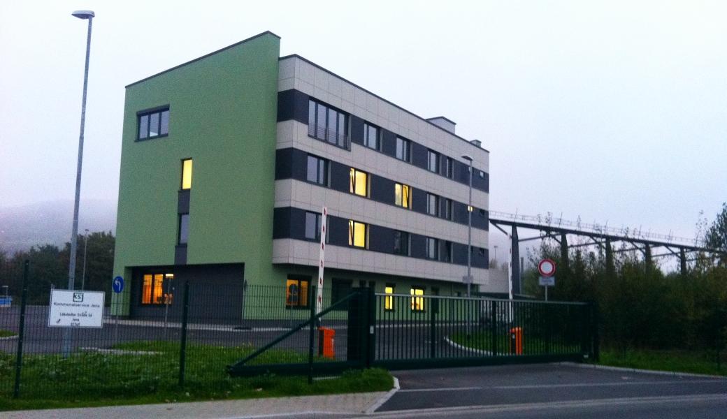 JEZT - Das Servicecenter des Kommunalservice Jena in der Loebstedter Strasse - Foto © MediaPool Jena