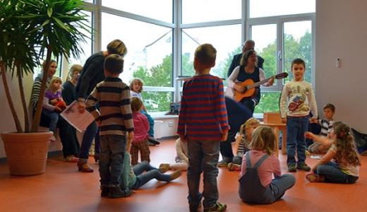 JEZT - Eröffnung der Kita Flohkiste in Jena-Nord - Foto © ASB Jena