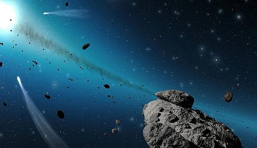JEZT - Ausschnitt 2 aus dem neuen Programm des Planetariums Jena - Zeitreise vom Urknall zum Menschen - Abbildung © STERNEVENT GmbH