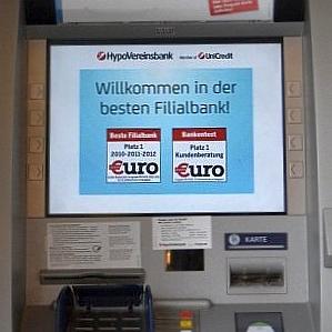 JEZT - Bankautomat der Hypo Vereinbank Jena - Foto © Goethe Galerie Jena