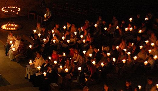 JEZT - Die Nacht der Lichter der Evangelischen Kirche - Foto ©  EKD