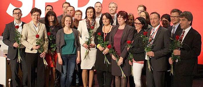 JEZT - Die neue Fuehrungd er Thueringer SPD - 2014-10-25 - Foto © SPD