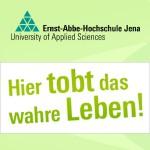 """Ernst-Abbe-Hochschule Jena: """"Hier tobt das wahre Leben"""" - Grafik © MediaPool Jena"""
