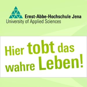 JEZT - Ernst-Abbe-Hoschschule - Hier tobt das wahre Leben - Grafik © MediaPool Jena