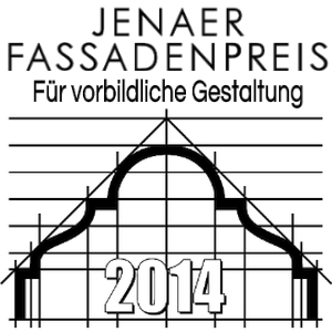 JEZT - Fassadenpreis der Stadt Jena 2014 - Logo © MediaPool Jena