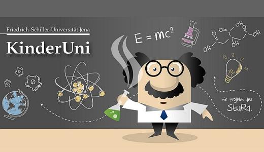 JEZT - Friedrich-Schiller-Kinder-Universitaet - Grafik © FSU StuRa