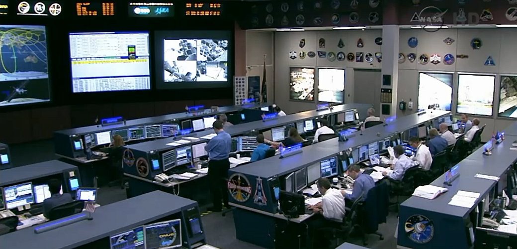 JEZT - NASA Kontrollzentrum 2014-10-07 - Image 2 © NASA Livestream