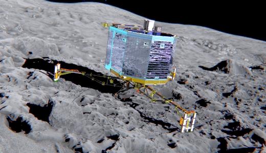 JEZT - Philae Rosetta Probe - Tschuri - Foto ©  ESA