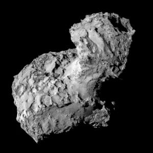 JEZT - Rosetta Image of Tschurjumow-Gerassimenko  - Foto ©  ESA