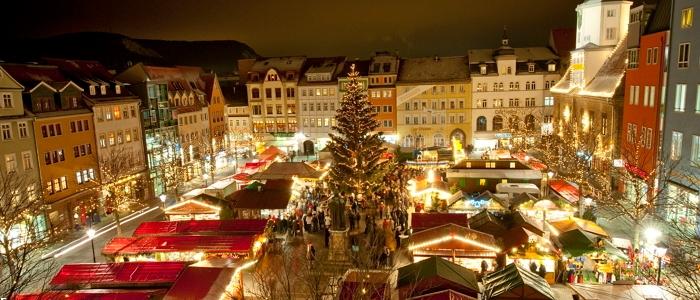 JEZT - Der Weihnachtsmarkt in Jena - Foto © JenaKultur Andreas Hub