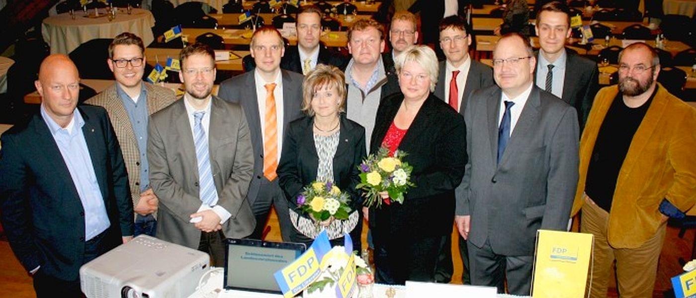 JEZT - Der neue FDP Landesvorstand vom November 2014 - Foto © FDP Thuerimgen